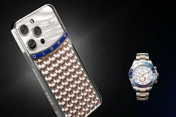 شرکت Caviar از مدلهای لوکس آیفون ۱۳ پرو با الهام از ساعتهای رولکس رونمایی کرد