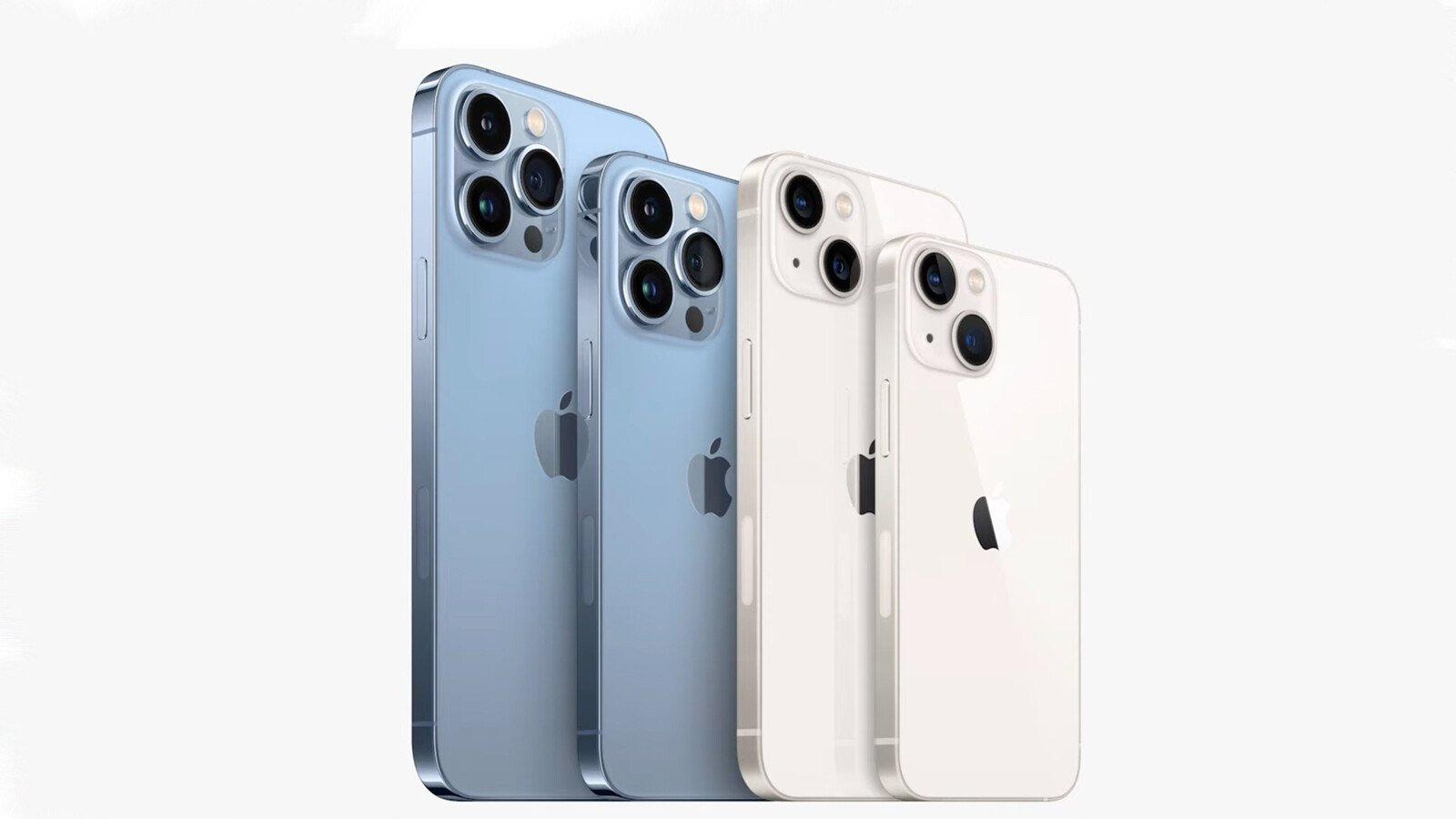 مقایسه گوشیهای خانواده آیفون ۱۳ با سری گلکسی S21 و شیائومی می ۱۱