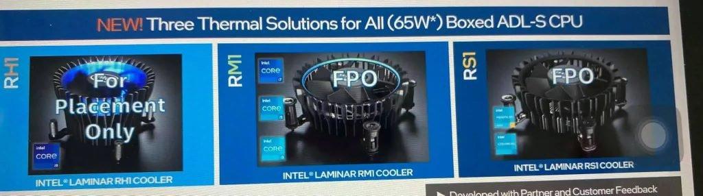 اخباراینتل روی خنککنندههای جدیدی برای پردازندههای Alder Lake کار میکند