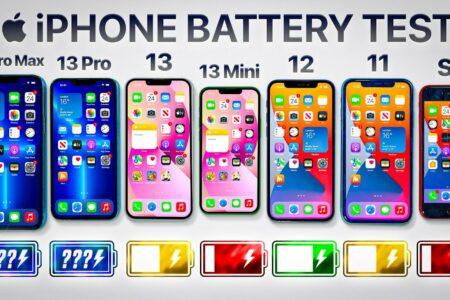 افزایش چشمگیر شارژدهی باتری خانواده آیفون ۱۳ [تماشا کنید]