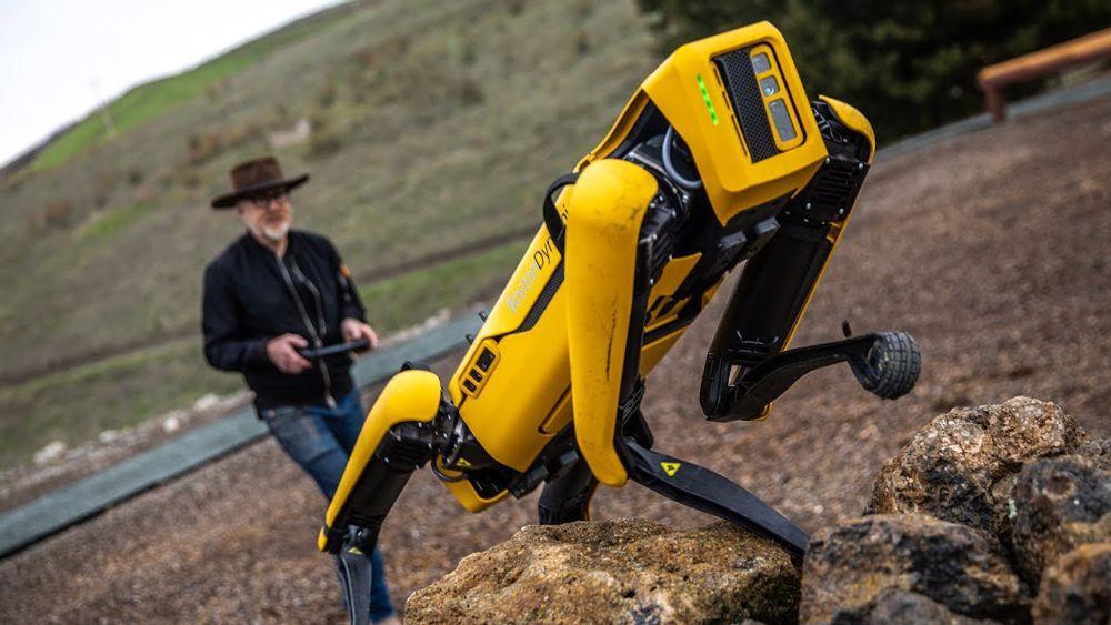 ربات اسپات بوستون داینامیکس