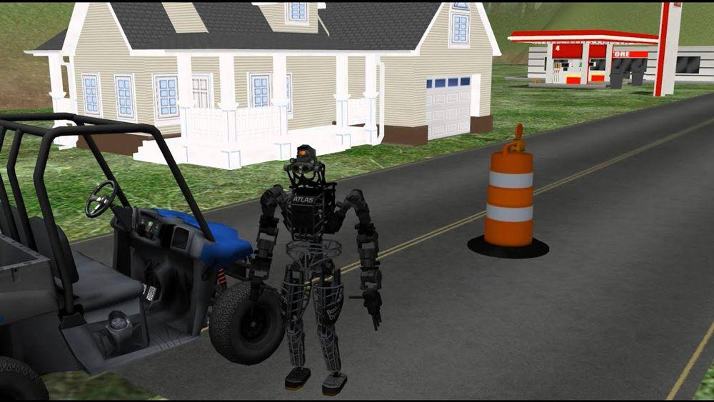ربات مجازی اطلس