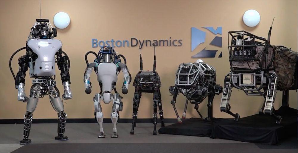 ربات های بستون داینامیکس