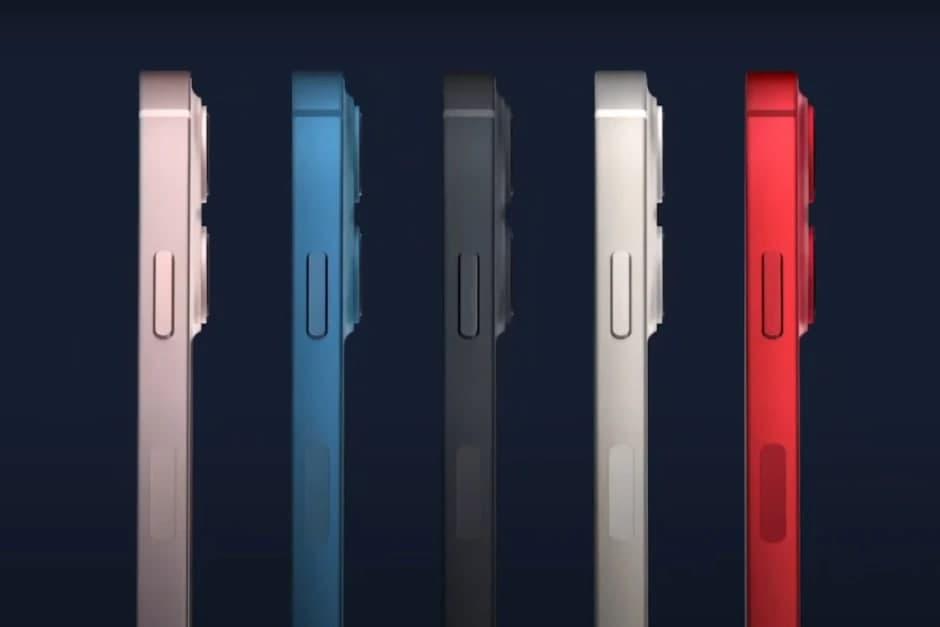 گوشیهای آیفون ۱۳ در چه رنگهایی عرضه میشوند؟