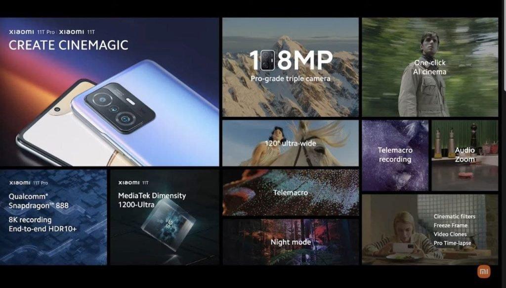 گوشیهای شیائومی ۱۱ تی و ۱۱ تی پرو با دوربین سهگانه معرفی شدند