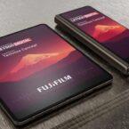 فوجیفیلم روی توسعه موبایل تاشو با طراحی وام گرفته از گلکسی زد فولد۳ کار میکند