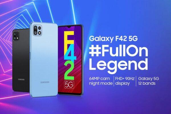 تاریخ رونمایی و برخی مشخصات اصلی گلکسی F42 5G سامسونگ مشخص شد