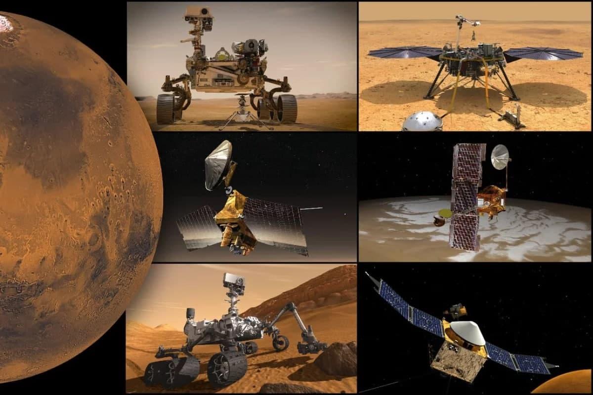 تمامی ماموریتهای ناسا در مریخ به مدت دو هفته متوقف میشوند