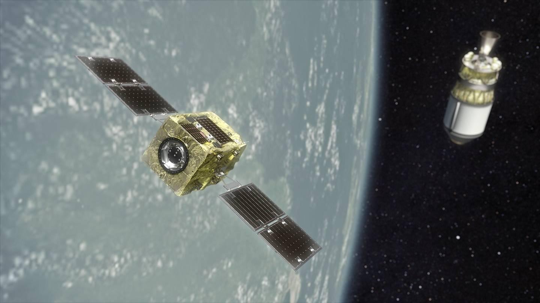 آژانس فضایی ژاپن در همکاری با راکت لب به سراغ حذف زبالههای فضایی میروند