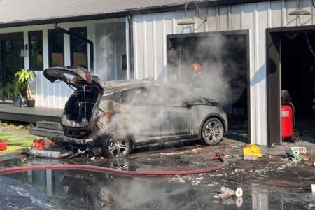 ال جی نقره داغ شد؛ جریمه 1.9 میلیارد دلاری به علت آتش گرفتن باتری شورلت بولت