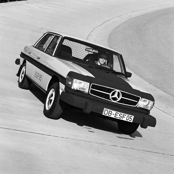 به مناسبت ۵۰ سالگی ESF 05؛ با اولین خودروی تست ایمنی مرسدس بنز آشنا شوید