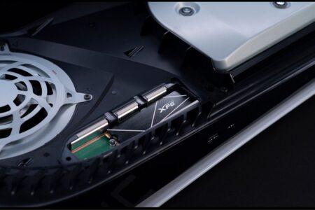 حافظه SSD ایدیتا XPG Gammix S70 سرعت ۷.۴ گیگابایت بر ثانیه را به PS5 میآورد