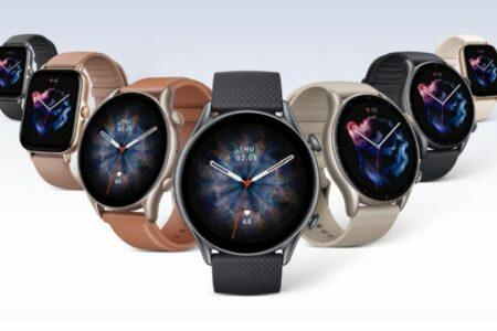 امیزفیت از ساعتهای هوشمند GTR 3 پرو، GTR 3 و GTS 3 رونمایی کرد