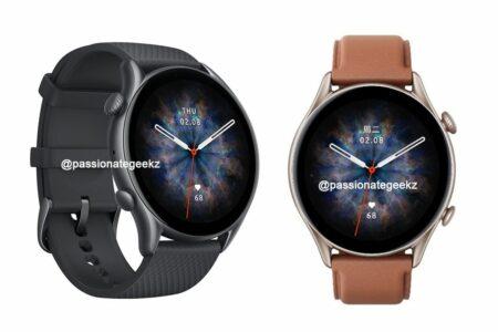 افشای مشخصات و قیمت ساعتهای هوشمند امیزفیت GTR 3 Pro ،GTR 3 و GTS 3