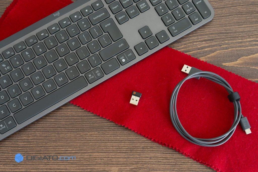 بررسی کیبورد لاجیتک MX Keys
