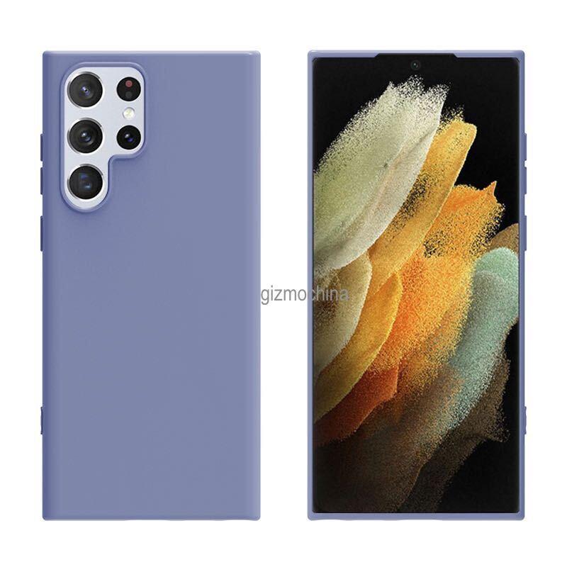 رندرهای کیس محافظ گلکسی S22 اولترا طراحی متفاوت دوربین را نشان میدهند