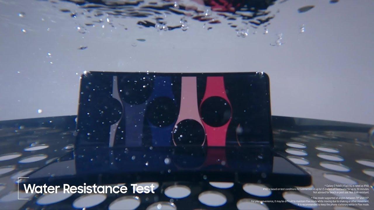 سامسونگ ویدیویی از نحوه آزمایش مقاومت گلکسی زد فولد ۳ و زد فلیپ ۳ منتشر کرد