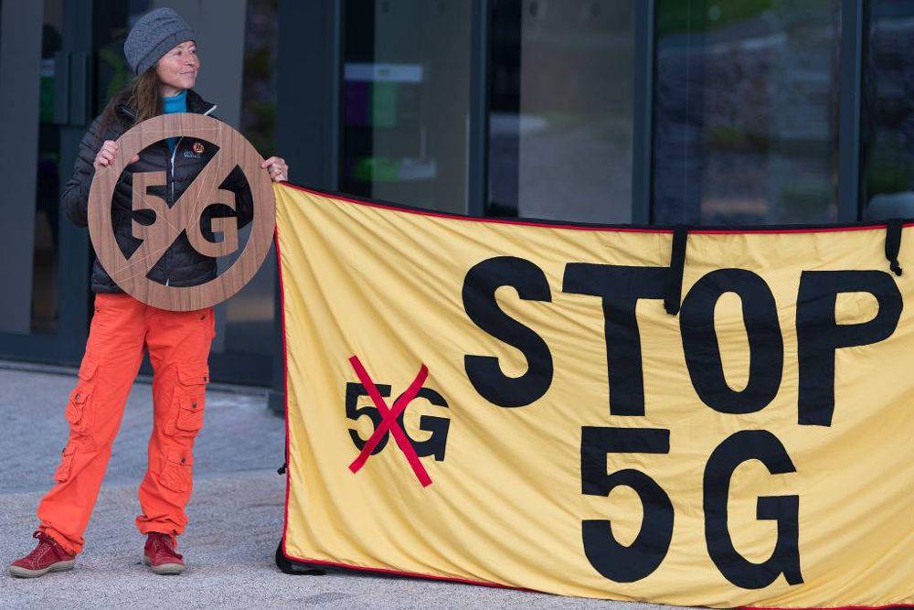 مخالفت با اینترنت 5G