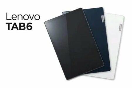 تبلت لنوو TAB6 5G معرفی شد؛ نمایشگر ۱۰.۳ اینچی و چیپ اسنپدراگون ۶۹۰