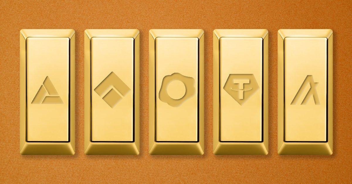 رمزارز با پشتوانه طلا؛ ارزهای دیجیتالی که پشتشان به طلا گرم است
