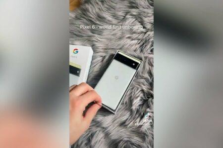 ویدیوی جعبهگشایی پیکسل ۶ پیش از رونمایی منتشر شد
