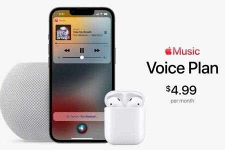 اشتراک Voice Plan برای اپل موزیک معرفی شد؛ دسترسی به محتوای نامحدود تنها با سیری