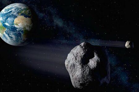 مجموعهای از سیارکها با اندازه بزرگتر از هرم جیزه از کنار زمین عبور میکنند