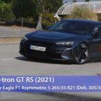 ناکامی آئودی RS e-tron GT در تست گوزن