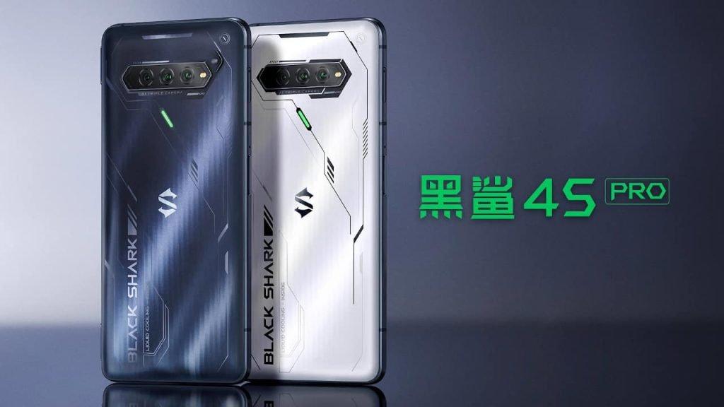 شیائومی از گوشیهای بلک شارک ۴S و ۴S پرو با نمایشگر ۱۴۴ هرتزی رونمایی کرد