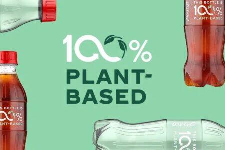 کوکا کولا برای تولید انبوه بطری ۱۰۰ درصد گیاهی ابراز آمادگی کرد