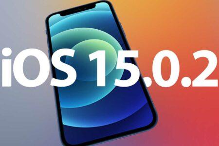 اپل آپدیتهای iOS 15.0.2 و watchOS 8.0.1 را منتشر کرد