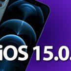 آپدیت iOS 15.0.1 برای حل مشکل قفلگشایی آیفون با اپل واچ منتشر شد