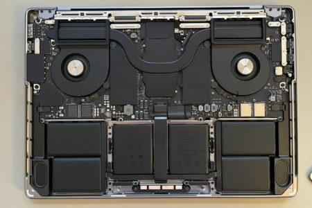 انتشار اولین تصاویر از طراحی داخلی مکبوک پرو ۱۴ و ۱۶ اینچی اپل