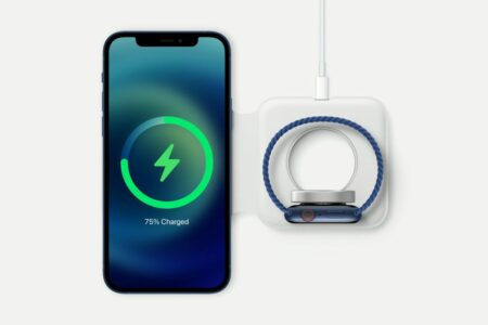 شارژر ۱۲۹ دلاری MagSafe Duo قادر به شارژ سریع اپل واچ سری ۷ نیست