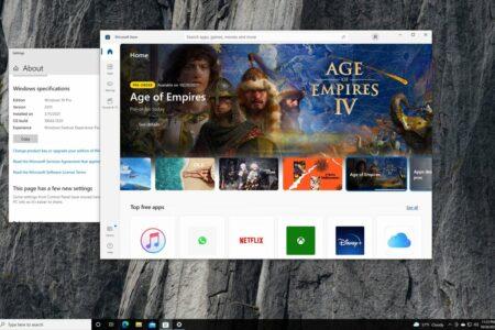 مایکروسافت استور ویندوز ۱۱ برای اینسایدرهای ویندوز ۱۰ عرضه شد