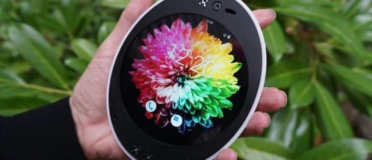 گوشی Cyrcle Phone 2.0، موبایلی با طراحی بیضی شکل و متفاوت [تماشا کنید]