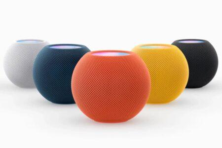 اپل از رنگهای جدید «هوم پاد مینی» رونمایی کرد