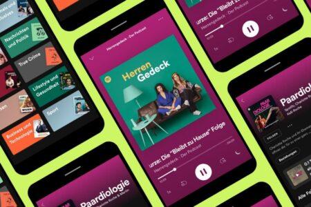 اسپاتیفای با پیشی گرفتن از اپل، برترین پلتفرم پخش پادکست در آمریکا شد